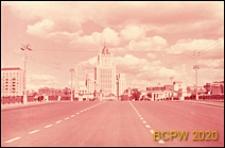 Budynek Ministerstwa Spraw Zagranicznych, widok ogólny od strony mostu Brodinskiego, Moskwa, Rosja