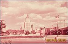 Budynek Ministerstwa Spraw Zagranicznych, widok ogólny z nad rzeki Moskwy, Moskwa, Rosja