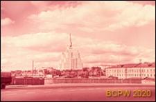 Budynek Ministerstwa Spraw Zagranicznych, widok panoramiczny od strony mostu, Moskwa, Rosja