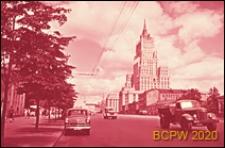 Budynek Ministerstwa Spraw Zagranicznych, widok ogólny od strony Obwodnicy Sadowej, Moskwa, Rosja
