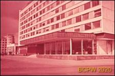 "Hotel ""Ûnost"", fasada budynku, Moskwa, Rosja"