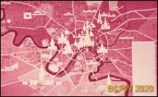 """Hotel """"Ûnost"""", wnętrze, panneau dekoracyjne """"Mapa Moskwy"""", Moskwa, Rosja"""