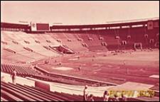 Stadion Łużniki, widok ogólny płyty, Moskwa, Rosja