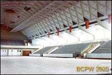 Dom Sportu, wnętrze, hala sportowa, Ryga, Łotwa