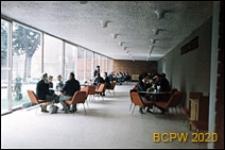 "Kawiarnia ""Palanga"", wnętrze, sala kawiarniana, Wilno, Litwa"