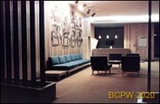 """Hotel """"Neringa"""", wnętrze, sala na półpiętrze, Wilno, Litwa"""