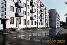 Osiedle na Antokolu, pięciokondygnacyjne budynki mieszkalne, widok ogólny, Wilno, Litwa
