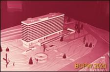 Hotel na 840 miejsc, makieta, Władywostok, Rosja