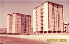 Osiedle mieszkaniowe INA-Casa, punktowce, widok ogólny, Rzym, Włochy