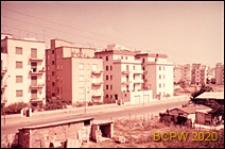 Nowa zabudowa mieszkaniowa w południowej części miasta, widok ogólny, Rzym, Włochy