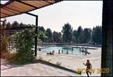 Park Śląski, Kąpielisko Fala, basen obok pergoli i drzew, brodzik Elipsa, Chorzów