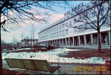 Hotel Scandic przy ulicy Podwale Grodzkie 9, widok zimą, Gdańsk