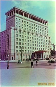Śródmieście, Grand Hotel przy ulicy Kruczej 28, widok ogólny, Warszawa