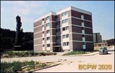 Osiedle Młodych, budynek mieszkalny pięciokondygnacyjny, widok zewnętrzny, Gdańsk-Wrzeszcz