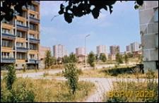 Osiedle mieszkaniowe, wieżowce, widok ogólny, Gdynia-Redłowo