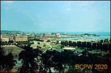 Panorama miasta, widok z Kamiennej Góry, Gdynia