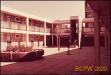 Osiedle LCC Rockingham Estate, zabudowa mieszkaniowa, dziedziniec wewnętrzny, Londyn, Wielka Brytania