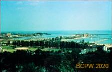 Panorama z Kamiennej Góry z widokiem na port, Gdynia