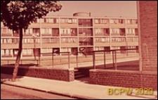 Osiedle LCC, blok mieszkalny, elewacja frontowa, Londyn, Wielka Brytania