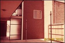 Osiedle LCC, fragment wejścia do budynku mieszkalnego, Londyn, Wielka Brytania