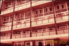 Blok LCC, fragment elewacji budynku mieszkalnego, Londyn, Wielka Brytania