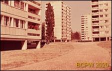 Osiedle Roehampton Lane, punktowce, widok zewnętrzny, Londyn, Wielka Brytania