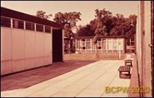 Osiedle Roehampton Lane, szkoła, dziedziniec wewnętrzny, Londyn, Wielka Brytania