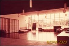 Osiedle Roehampton Lane, szkoła, wnętrze sali gimnastycznej, Londyn, Wielka Brytania
