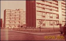 Dzielnica Stepney, bloki mieszkaniowe, Londyn, Wielka Brytania