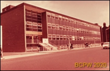 Biurowiec, budynek LCC, elewacja frontowa budynku, Londyn, Wielka Brytania