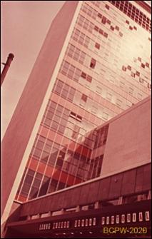 Biurowiec, Daily Mirror, widok naroża budynku, Londyn, Wielka Brytania