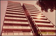 Wieżowiec, elewacja frontowa budynku, Londyn, Wielka Brytania