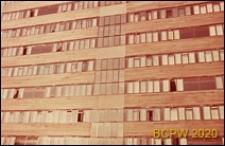 Osiedle mieszkaniowe Fulbounce Estate, blok mieszkalny, fragment elewacji, Londyn, Wielka Brytania