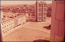 Osiedle mieszkaniowe Brandon Estate, zabudowa mieszkaniowa, widok z góry na osiedle, Londyn, Wielka Brytania