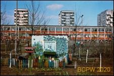 Osiedle Bronowice, szkoła podstawowa, widok zewnętrzny, Kraków