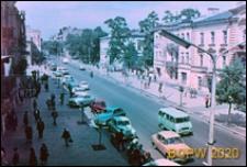 Ulica Krakowskie Przedmieście, widok ogólny, Lublin
