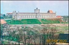 Zamek Lubelski z panoramą okolicy, widok ogólny, Lublin