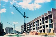 Osiedle mieszkaniowe w trakcie budowy, Kraków-Nowa Huta
