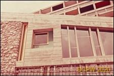 Miasteczko Uniwersyteckie, Dom Brazylijski, fragment elewacji budynku klubu, okno, Paryż, Francja
