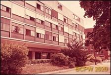 Miasteczko Uniwersyteckie, Pawilon Szwajcarski, elewacja budynku, Paryż, Francja