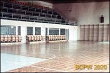 Wojewódzki Ośrodek Sportu, Turystyki i Wypoczynku przy ulicy Głowackiego, sala gimnastyczna do gier, Olsztyn