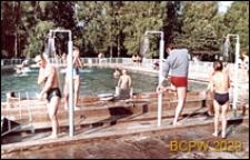 Park Kultury w Powsinie, basen kąpielowy i prysznice, Warszawa-Powsin