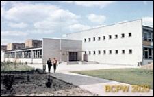 Szkoła podstawowa, widok ogólny, zewnętrzny, Poznań
