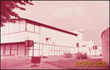 Pawilon sopockiego Biura Wystaw Artystycznych przy ulicy Powstańców Warszawy, widok zewnętrzny, Sopot