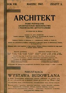 Architekt 1907 z. 3