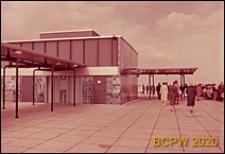 Port lotniczy Paryż-Orly, fragment tarasu widokowego, Francja