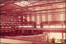 Europejski Ośrodek Badań Jądrowych CERN, hala laboratoryjna, wnętrze, Genewa, Szwajcaria