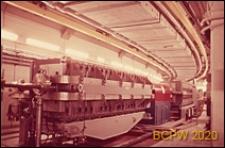 Europejski Ośrodek Badań Jądrowych CERN, hala laboratoryjna, wnętrze, krąg cyklotronu, Genewa, Szwajcaria