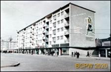 Osiedle Stare Miasto, budynek mieszkalny narożnikowy, ulica Wielka, obecnie ulica ks. Kardynała Stefana Wyszyńskiego i Aleje Niepodległości, Szczecin