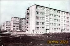 Śródmieście, Osiedle Grunwaldzkie, budynki mieszkalne pięciokondygnacyjne, widok w trakcie budowy, Szczecin